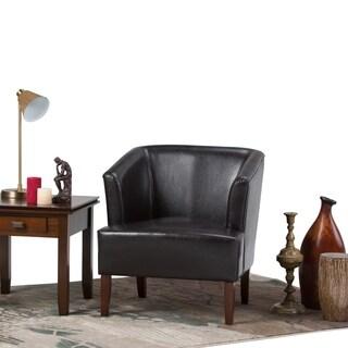 WYNDENHALL Clifton Bonded Leather Club Chair