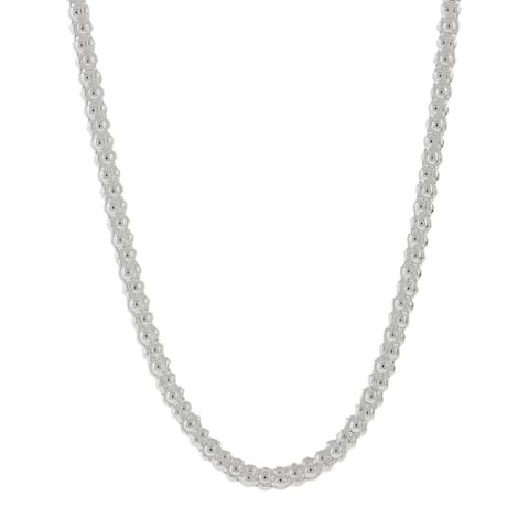 ff8d517cd5c04a Buy 20 Inch Sterling Silver Necklaces Online at Overstock | Our Best ...