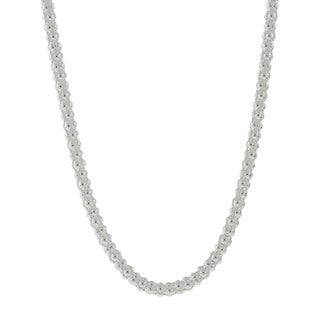 Pori Italian Sterling Silver Coreana Chain Necklace (2.5mm)