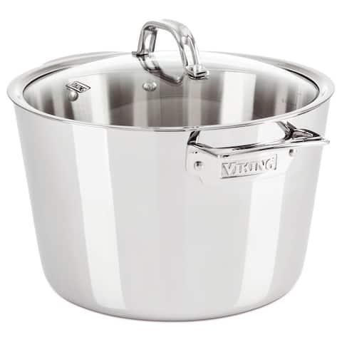 Viking Contemporary 8.0 Qt, 7.5 l., Stock Pot, Mirror Finish