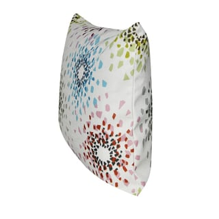 Loom and Mill 21 x 21-inch Shattered Colors Decorative Pillow