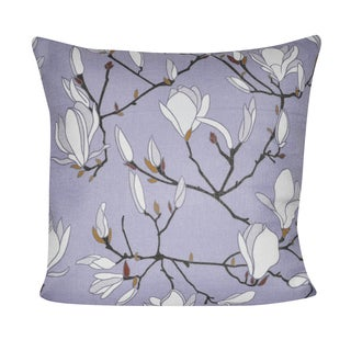 Loom and Mill 21 x 21-inch Magnolias Decorative Pillow