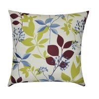 Loom and Mill 22 x 22-inch Floral Decorative Pillow