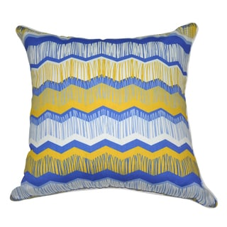 Loom and Mill 18 x 18-inch Chevron Decorative Pillow
