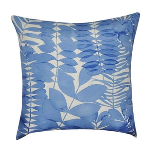 Loom and Mill 22 x 22-inch Leaf Decorative Pillow