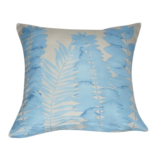 Loom and Mill 21 x 21-inch Leaf Decorative Pillow