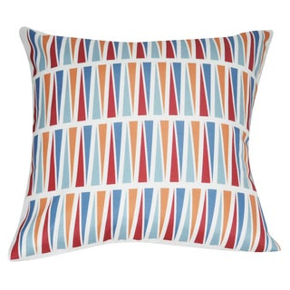 Loom and Mill 21 x 21-inch Geometric Decorative Pillow