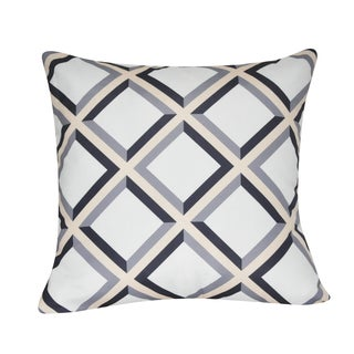 Loom and Mill 21 x 21-inch Diamond Decorative Pillow