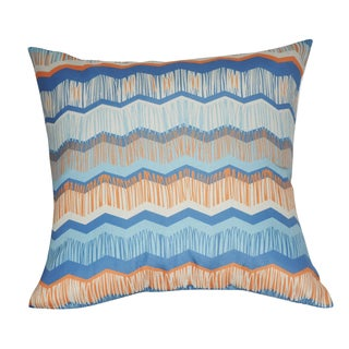 Loom and Mill 21 x 21-inch Chevron Decorative Pillow