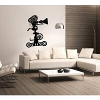 Camera cinema camcorder videocamera Wall Art Sticker Decal