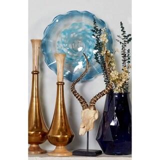 Chic Handmade Blown Glass Plate