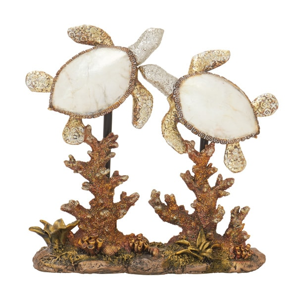 Polystyrene Double Sea Turtle 8-inch, 9-inch