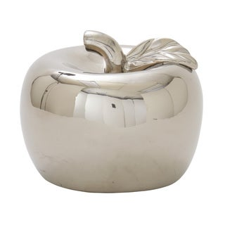 Silver Orchid Miller Ceramic Silver Apple