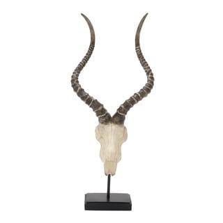 Polystyrene Metal Antelope Head 10-inch, 24-inch - Thumbnail 0