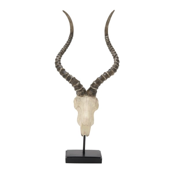 Polystyrene Metal Antelope Head 10-inch, 24-inch