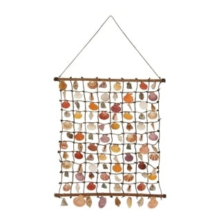 Rattan Shell Wall Hang 24-inch, 46-inch