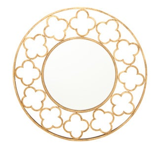 Metal Wall Mirror 32-inch