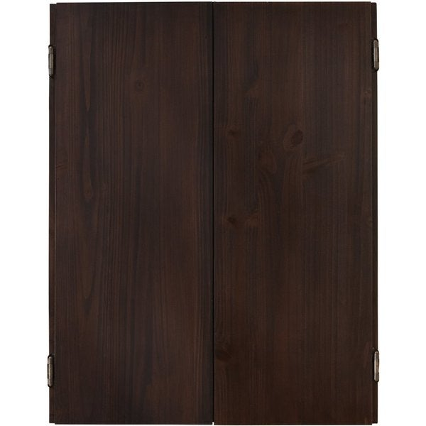 Viper Metropolitan Solid Pine Dartboard Cabinet with Espresso finish / Model 40-0407