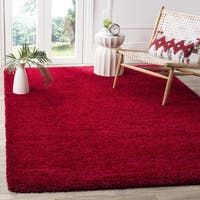 Safavieh Milan Shag Red Rug (3' x 5')