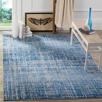 Safavieh Adirondack Modern Abstract Blue/ Silver Rug - 5'1 x 7'6