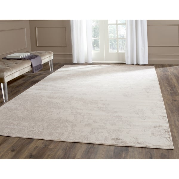 Safavieh Vintage Ivory/ Grey Distressed Rug (4' x 5' 7)
