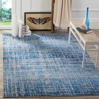 Safavieh Adirondack Modern Abstract Blue/ Silver Rug (6' x 9')