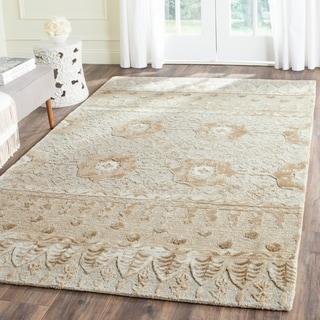 Safavieh Handmade Allure Ivory Wool Rug (5' x 8')