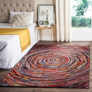 Shop Safavieh Aruba Abstract Multi Colored Rug 5 3 Quot X 7