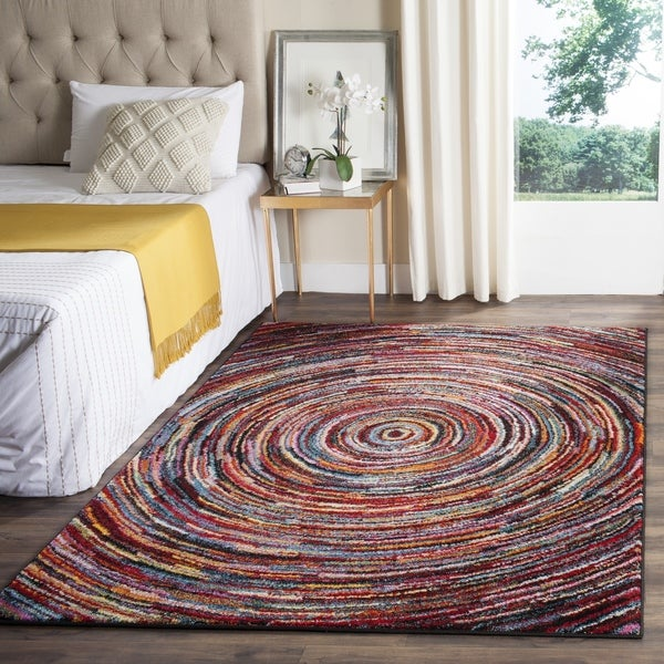 Safavieh Aruba Abstract Multi Colored Rug 5 3 X 7 6