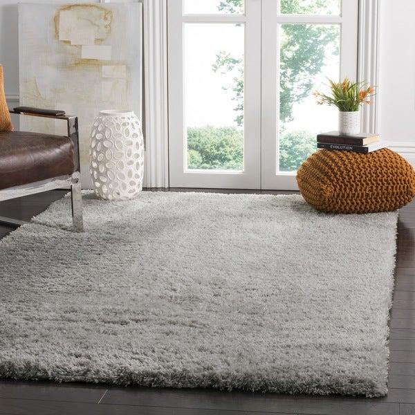 Safavieh Indie Shag Grey Polyester Rug - 4' x 6'