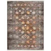 Safavieh Vintage Persian Brown/ Multi Distressed Silky Rug - 3' x 5'