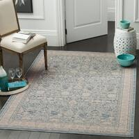 Safavieh Archive Vintage Blue/ Grey Distressed Rug - 5' 1 x 7' 6