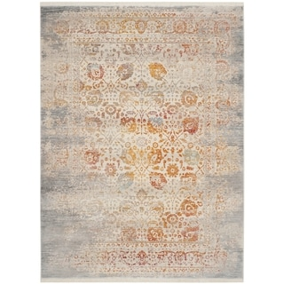 Safavieh Vintage Persian Grey/ Multi Polyester Rug (3' x 5')