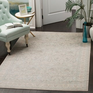 Safavieh Archive Vintage Grey/ Light Grey Distressed Rug (6' 7 x 9' 2)