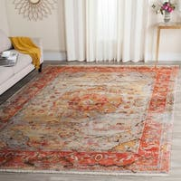 Safavieh Vintage Persian Blue/ Multi Distressed Rug - 3' x 5'