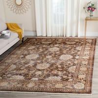 Safavieh Vintage Persian Brown/ Multi Distressed Rug - 4' x 6'