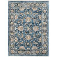 Safavieh Vintage Persian Turquoise/ Multi Distressed Silky Rug - 3' x 5'