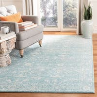 Safavieh Evoke Vintage Oriental Light Blue/ Ivory Distressed Rug - 6' 7 x 9'