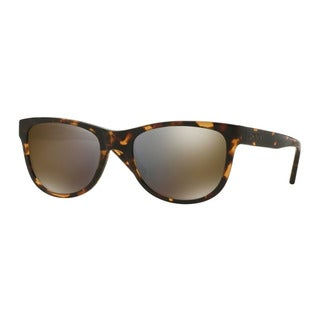 DKNY Men's DY4139 37004T Havana Plastic Square Sunglasses