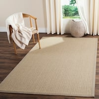 Safavieh Casual Natural Fiber Handmade Light Grey Sisal Rug - 6' x 9'