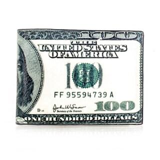 Faddism YL Artisto Series '100 Dollar Bills' Full size Bifold Wallet