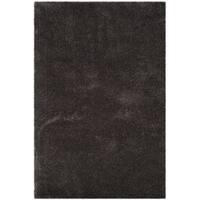 Safavieh Reno Shag Dark Grey Polyester Rug - 4' x 6'