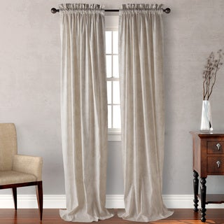 Tommy Bahama Plantation Floral Natural Curtain Panel (Pair)