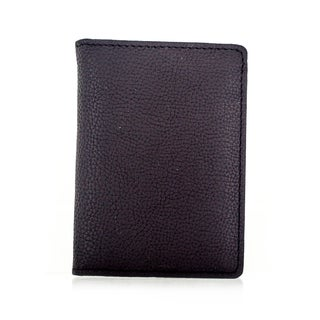 Faddism YL Simple Series Men's Brown Leather Compact L-fold Wallet