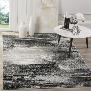 Safavieh Adirondack Modern Abstract Silver/ Multicolored Large Area Rug (11' x 15')
