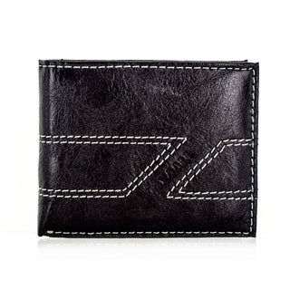 Faddism Yaali Series Men's Leather Brown Bifold Wallet