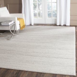 Safavieh Adirondack Vintage Ombre Ivory / Silver Runner Rug (12' x 18')