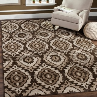 Safavieh Tunisia Brown/ Cream Rug (6' 7 x 9' 2)
