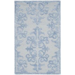 Safavieh Handmade Bella Blue Wool Rug (2' 6 x 4')