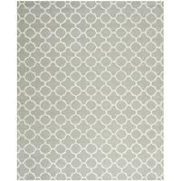 Safavieh Handmade Chatham Grey/ Ivory Wool Rug - 11' x 15'